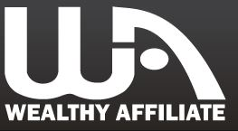 Wealthy Affiliate Logo Black