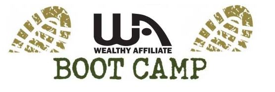 Wealthy Affiliate Boot Camp Logo