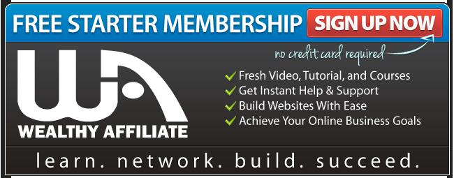 Wealthy Affiliate Free Starter Membership