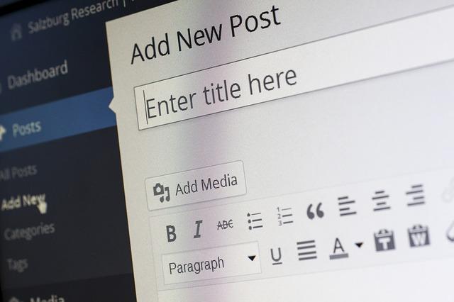 Write a Blog Post in WordPress