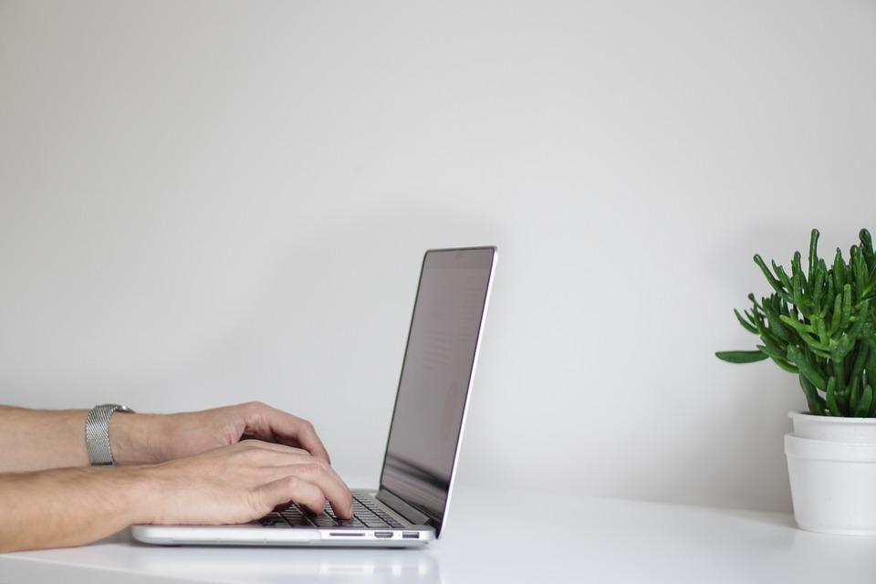 Blogging Man