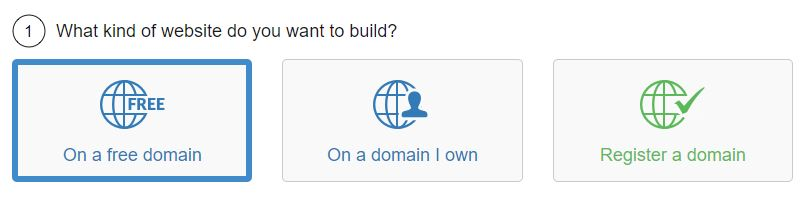 Choose a Free Website Domain