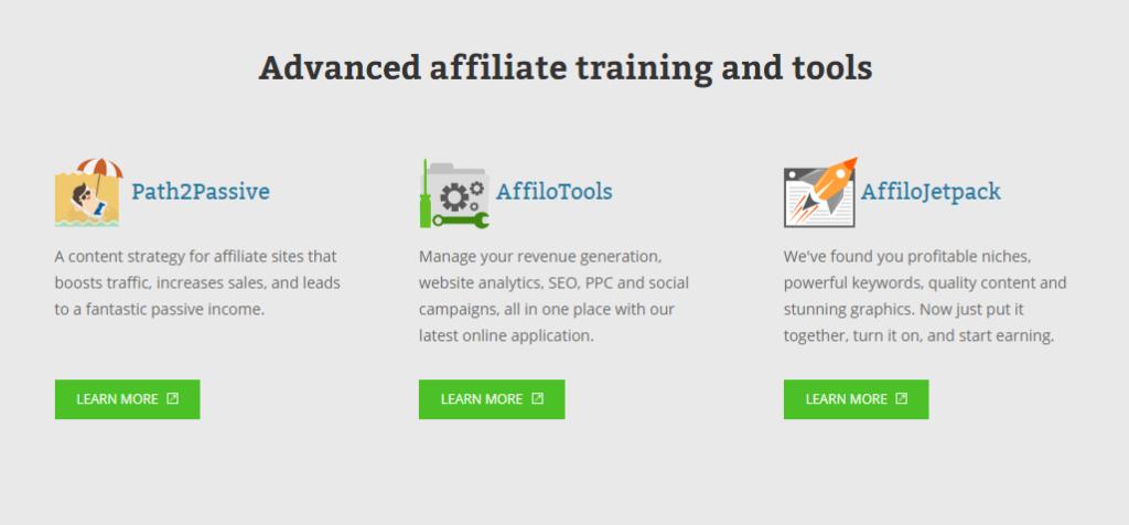 Affilorama Advanced Training Options