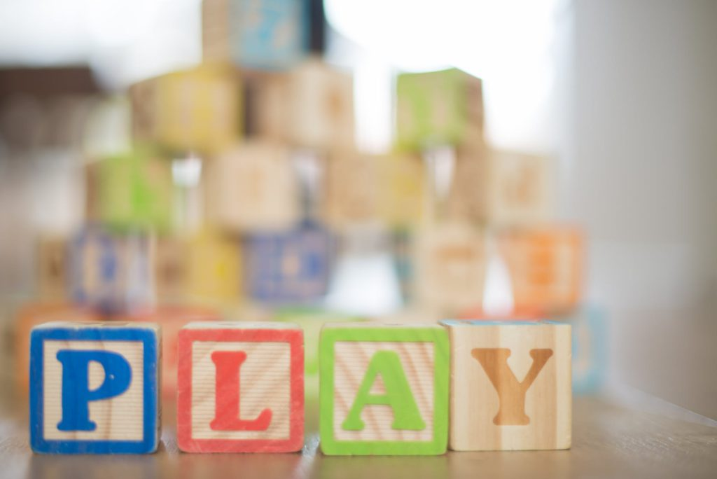 Alphabet Letters Wooden Blocks