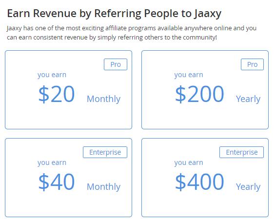 Jaaxy Affiliate Program Screen Capture