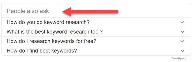 Long Tail Keywords Ideas