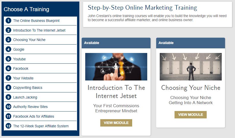 Internet Jetset Training Modules