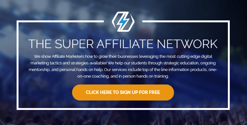 My Super Affiliate Home Page