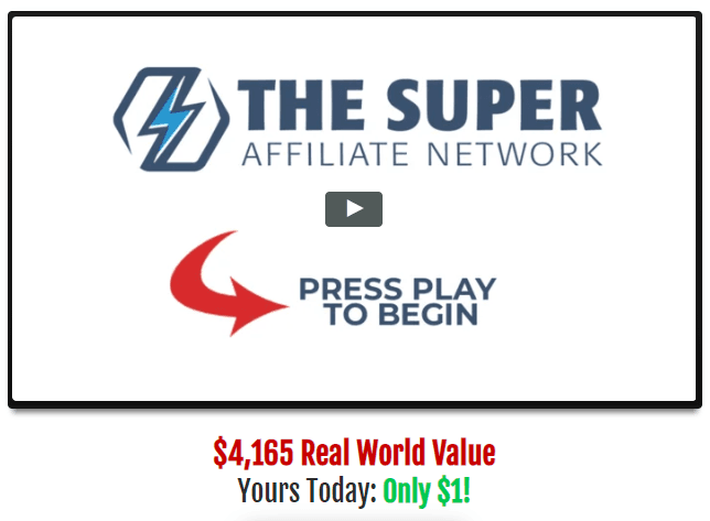 Super Affiliate Success System Screen Capture