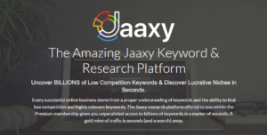 Wealthy Affiliate & Jaaxy Keyword Research Tool