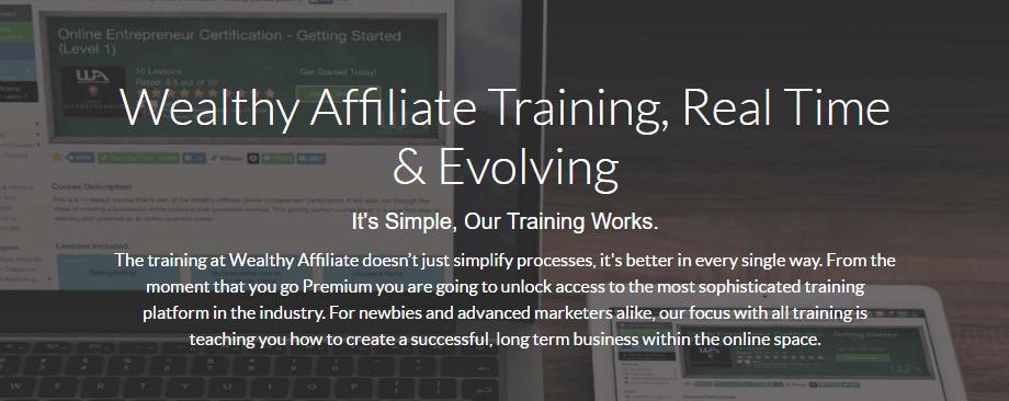 Wealthy Affiliate Online Entrepreneur Certification Review