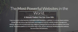 Wealthy Affiliate Websites Section