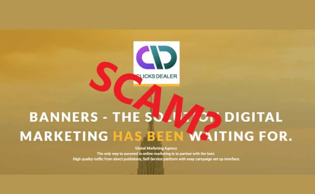 Clicks Dealer Review - Scam?