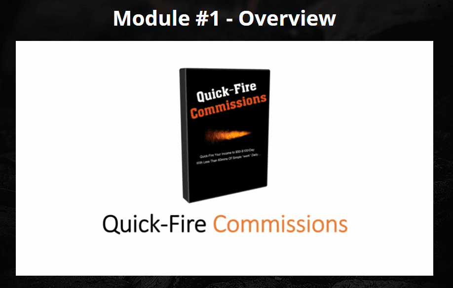 Quick Fire Commissions Product Review