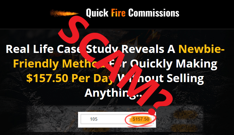 Quick Fire Commissions Scam Review