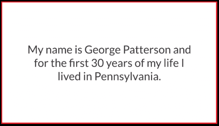 George Patterson