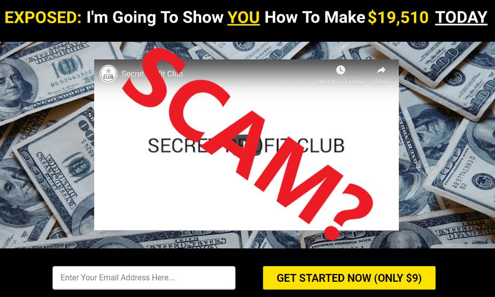 Secret Profit Club Review - a Scam?