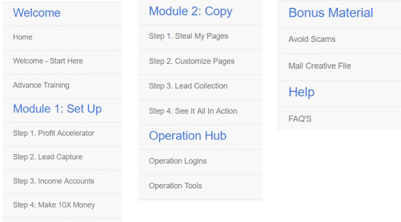 Quick Home Websites Training Modules