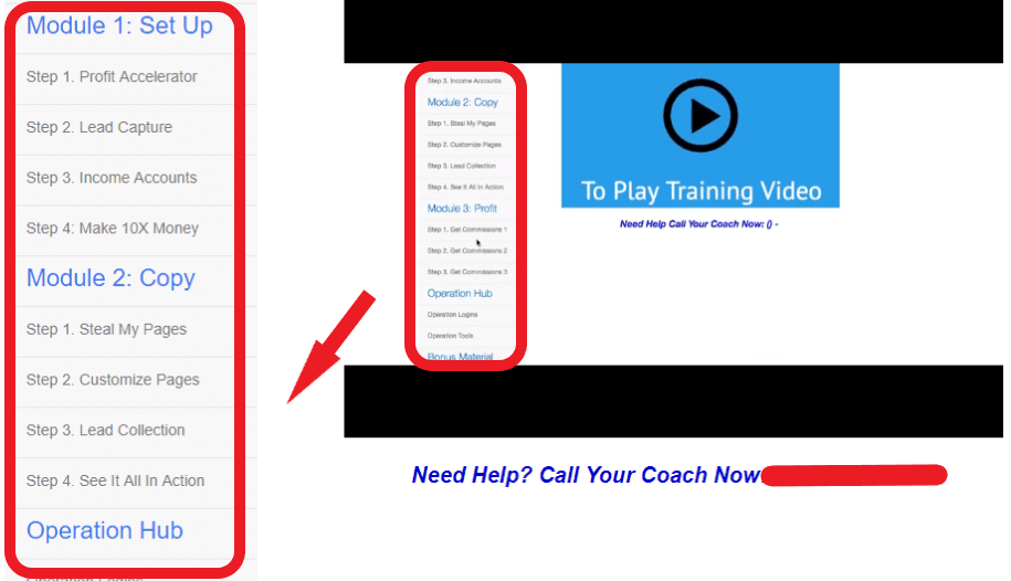 Quick Home Websites Missing Training