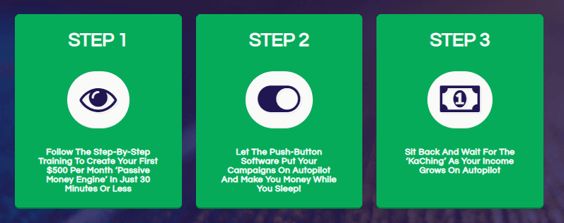 Re-KaChing Steps