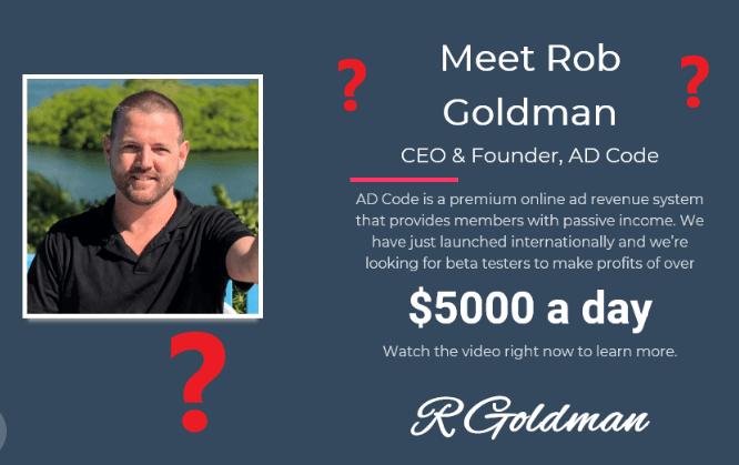 AD Code Review Rob Goldman