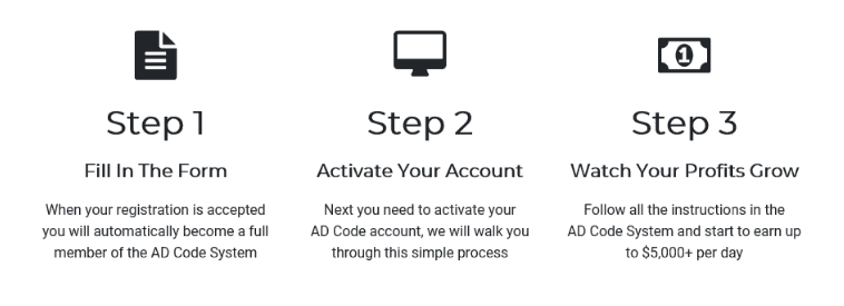 AD Code Steps to Get Started