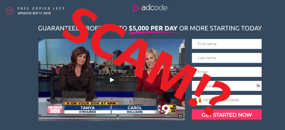 AD Code Scam Review