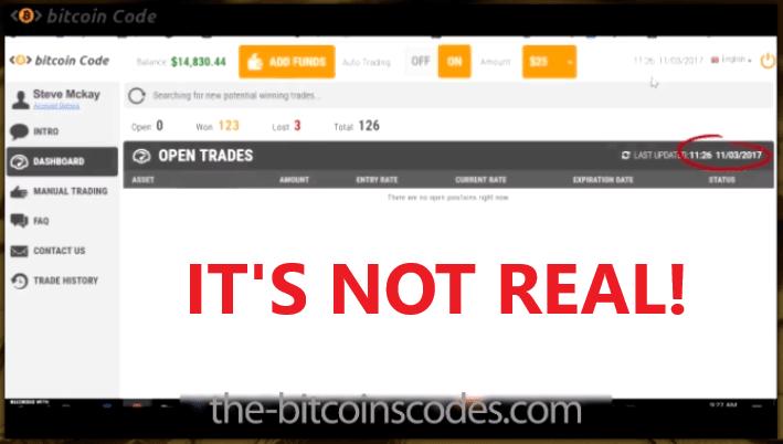 Bitcoin Code Fake Software