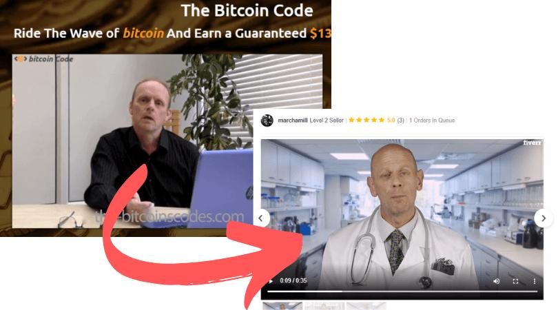 Bitcoin Code Fake Testimonial