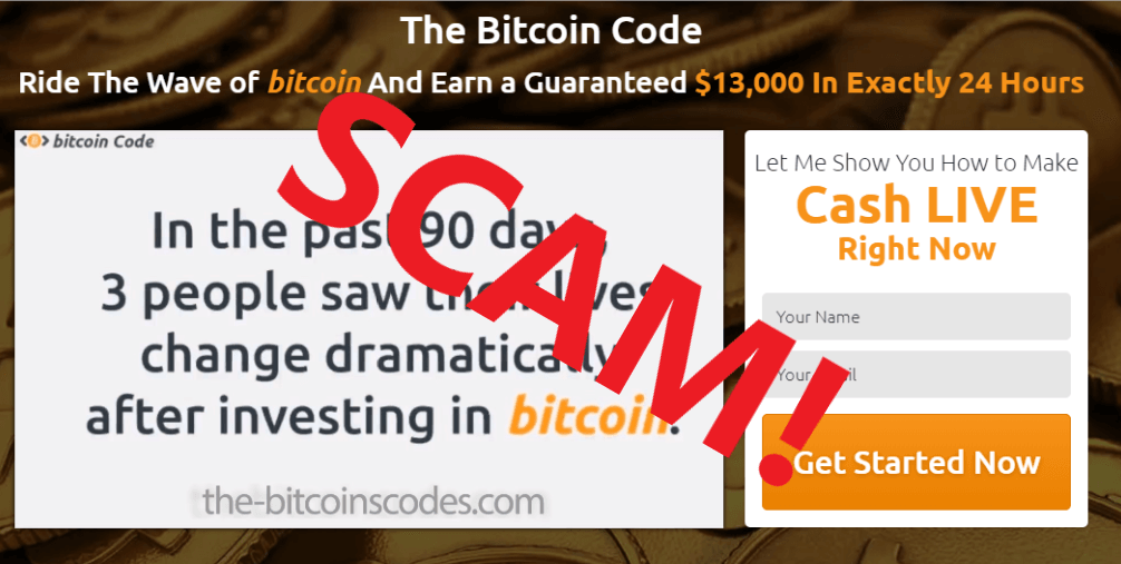 Bitcoin Code Review - Scam