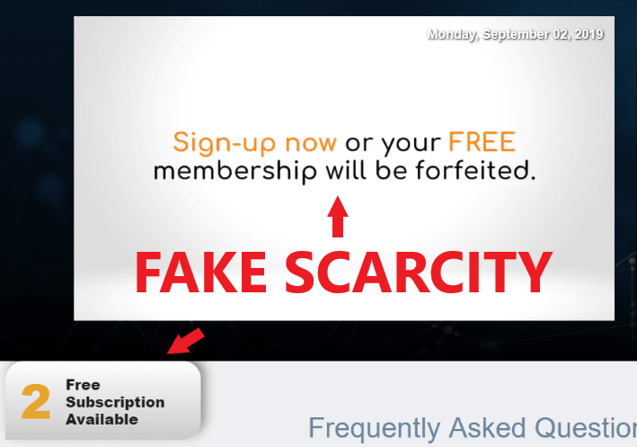 Bitcoin Loophole Scam Fake Scarcity