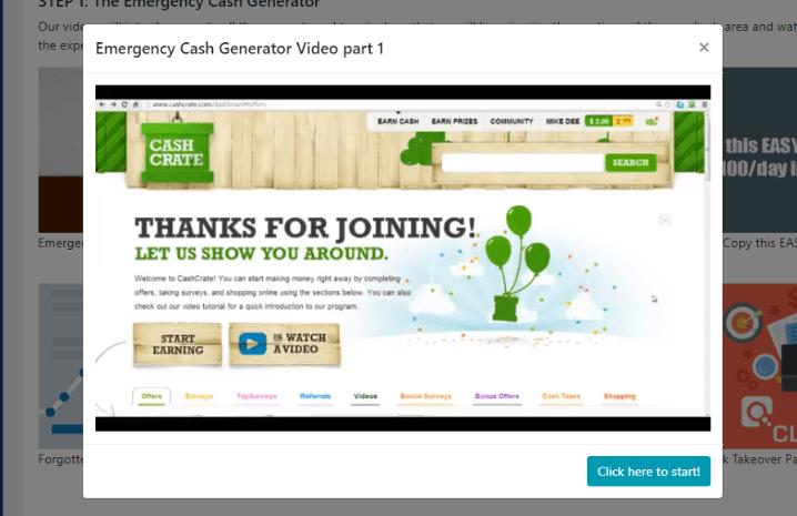 Money Looper Emergency Cash Generator Video