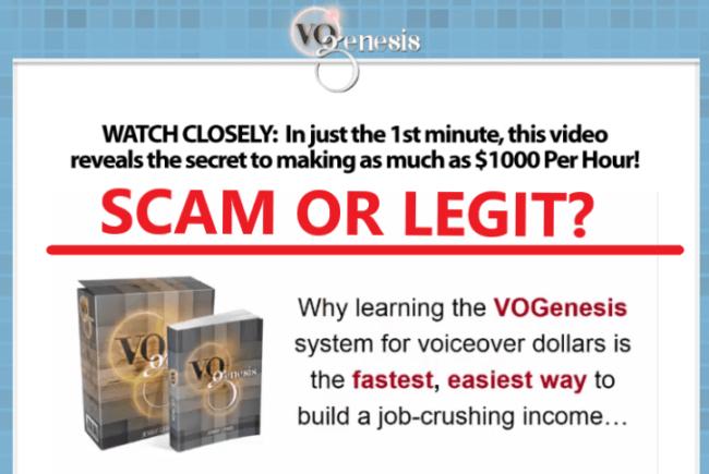 VO Genesis Review - Scam or Legit?