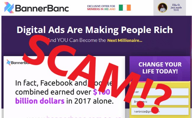 Banner Banc Review - Scam