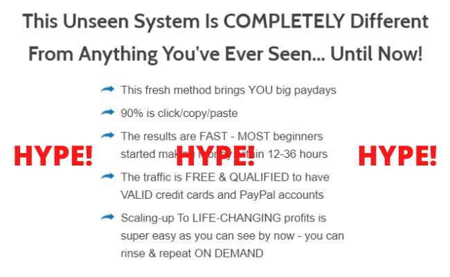Easy Passive Profits Fake Hype