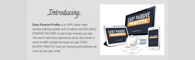 Easy Passive Profits Product Description