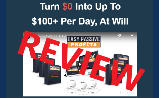 Easy Passive Profits Review