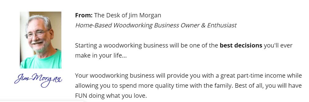 Jim Morgan Wood Profits