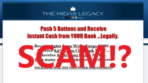 The Midas Legacy Review - Scam