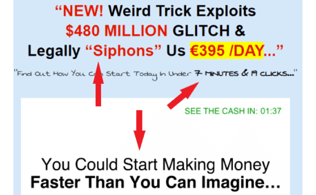 Daily Cash Siphon Overhyped Income Claims