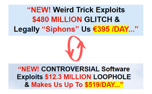 Daily Cash Siphon Rebranded Scam