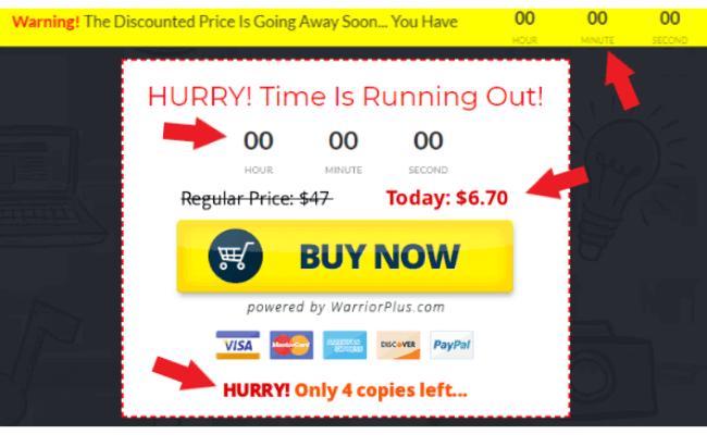 Easy Profit Secrets - Fake Scarcity