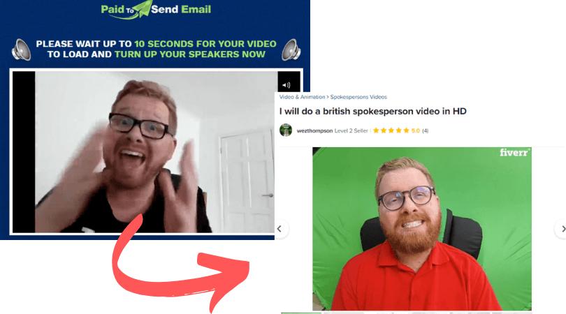 Paid To Send Email Fake Testimonial