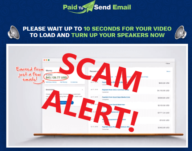 Paid To Send Email Review Scam Alert