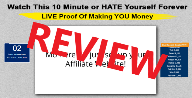 Affiliate Millionaire Club Scam Review