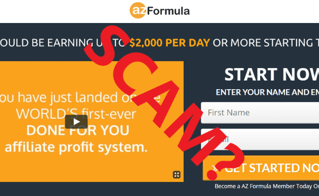 AZ Formula Review - a Scam?