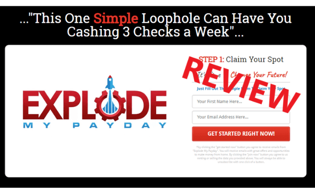 Explode My Payday Review - Scam