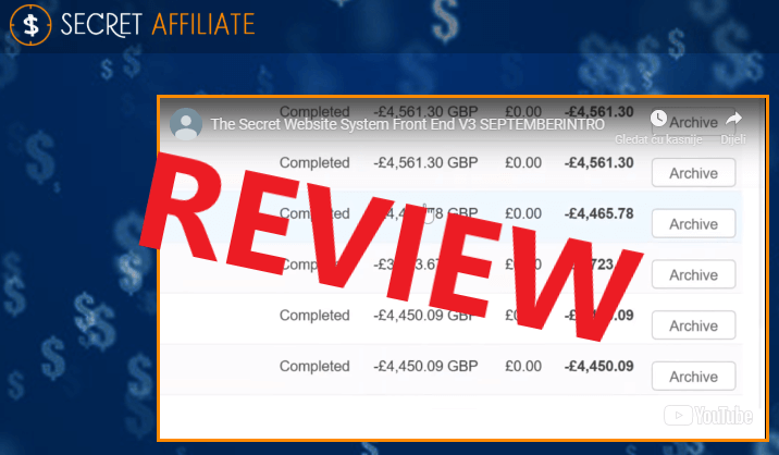 Super Affiliate Website Review