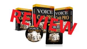 Voice Cash Pro Review - Scam or Legit