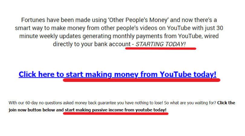 YouTube Secrets Review Warning